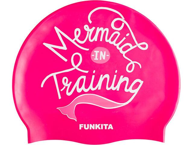 Funkita Silicone Badehætte pink (2019) | swim_clothes
